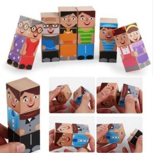 Wooden Character Puzzle