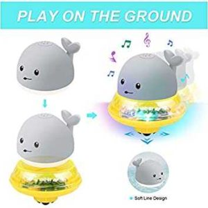 Whale UFO 2 in 1 Interactive Bath Toy