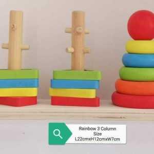 Rainbow 3 Column Stacker