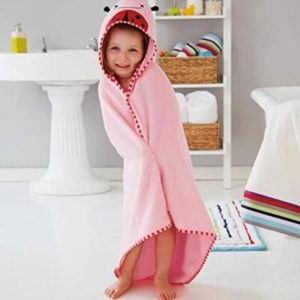 Skip Hop Zoo Hooded Towels – Pink