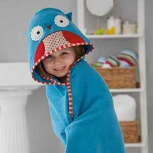 Skip Hop Zoo Hooded Towels – Blue