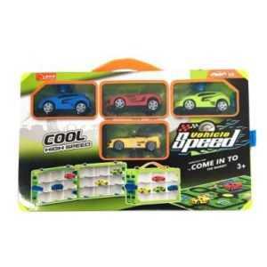 Car Play Set with Play Mat