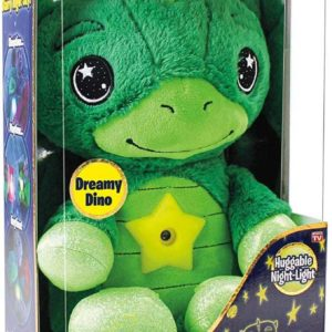 Star Belly Dream Light – Stuffed Animal Night Dreamy Green Dino Light –