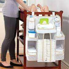Nursery diaper organiser