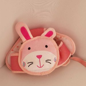 Pink Bunny Crawling Helmet