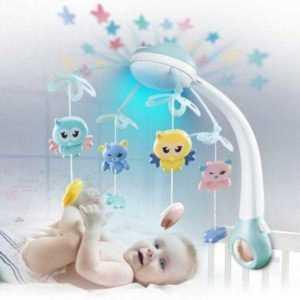 Optic baby projection night light