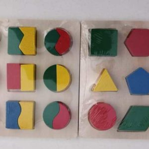 Shape puzzle boards