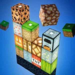 Minecraft Block Building Night light