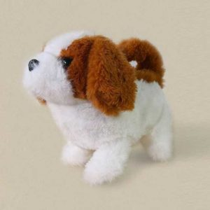 Cute Pet – Interactive Pet Playmate – Brown and White Puppy