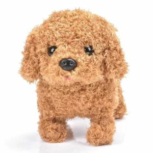 Cute Pet – Interactive Pet Playmate – Brown Puppy