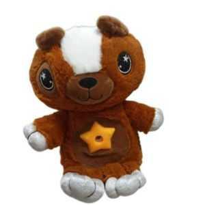 Brown Puppy Star Belly